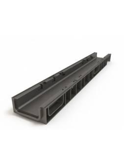 Лоток 100.65 h69 пластиковый, РБ (Дополнительный элемент: Решетка STANDART) (ecoteck)