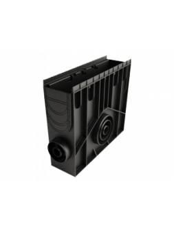Пескоуловитель 100 h419 пластиковый в сборе, РБ (Дополнительный элемент: Решетка STANDART) (ecoteck)