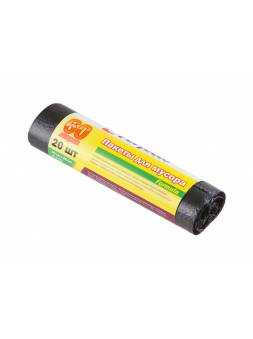 Пакеты для мусора Formula, 60 л, 20 шт., PERFECTO LINEA
