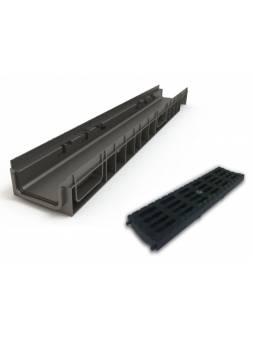 Лоток MEDIUM 100.65 h85 пластиковый, РБ (Дополнительный элемент: Решетка MEDIUM) (ecoteck)