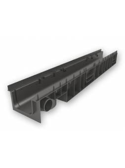 Лоток MEDIUM 100.95 h115 пластиковый, РБ (Дополнительный элемент: Решетка MEDIUM) (ecoteck)