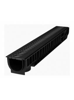 Лоток STANDART с решеткой пластиковой 100.95 h99, комплект, РБ (ecoteck)