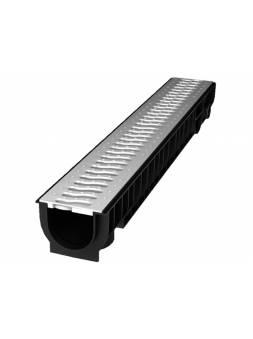 Лоток STANDART с решеткой стальной 100.95 h99, комплект, РБ (ecoteck)