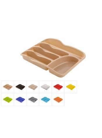 Лоток для столовых приборов 34х26 см, DRINA (цвета в ассортименте)