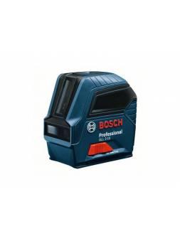 Нивелир лазерный BOSCH GLL 2-10 в кор. (проекция: крест, до 10 м, +/- 0.50 мм/м, резьба 1/4, 5/8