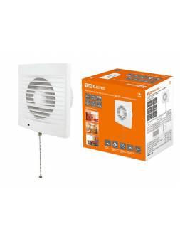 Вентилятор бытовой настенный 150 СВ, с выключателем, TDM