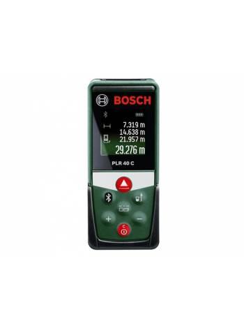 Дальномер лазерный BOSCH PLR 40 C в кор. (0.05 - 40 м, +/- 2 мм/м,)