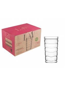 Набор стаканов, 6 шт., 450 мл, серия Vitalis, LAV