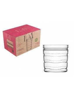 Набор стаканов для виски, 6 шт., 415 мл, серия Vitalis, LAV