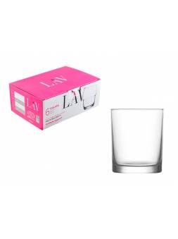 Набор стаканов для виски, 6 шт., 280 мл, серия Liberty, LAV