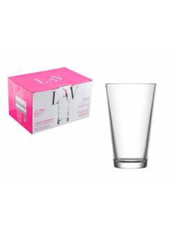 Набор стаканов, 6 шт., 325 мл, серия Hera, LAV