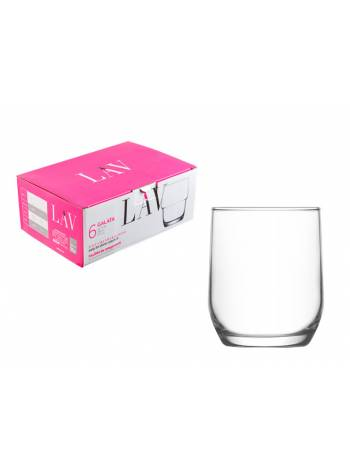 Набор стаканов для виски, 6 шт., 315 мл, серия Sude, LAV