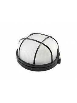 Светильник НПБ1302 черный/круг с реш. 60Вт IP54 TDM