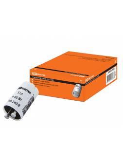 Стартер S10 4-80Вт 220-240В алюм. контакты TDM