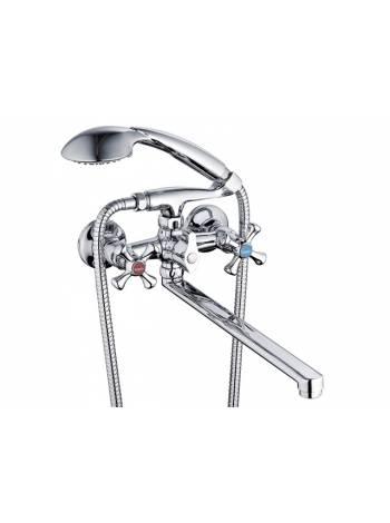 Смеситель для ванны (Lt) QST7-A827 G.Lauf (Смеситель латунный, Гарантия 5 лет)