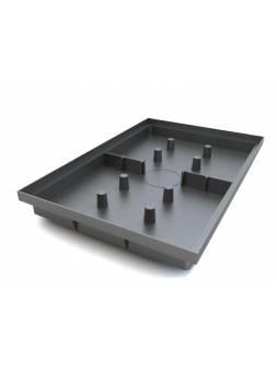 Придверный поддон 600х400 (черный), РБ (ecoteck)