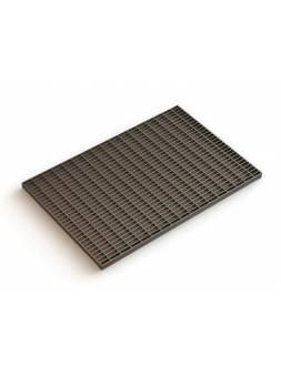 Решетка стальная 390х590 (ячейка 33х11), РБ (ecoteck)