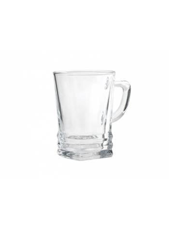 Кружка стеклянная, 225 мл, серия Elegan, LAV