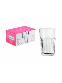 Набор стаканов, 6 шт., 300 мл, серия Aras, LAV