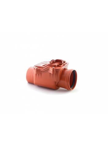Обратный клапан для наружной канализации 160 РосТурПласт (Клапан обратный 160, гарантия 5 лет)