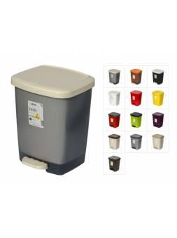 Контейнер для мусора с педалью Luxis (Люксис) 25 л (комплект), DRINA (цвета в ассортименте)