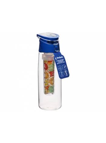 Бутылка для воды с контейнером д/фруктов, 750 мл, PERFECTO LINEA