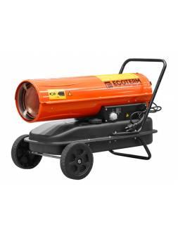 Нагреватель воздуха диз. Ecoterm DHD-301W прямой (30 кВт, 720 куб.м/час, термостат)