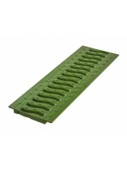 Решетка 100 пластиковая Волна (зеленый папоротник), РБ (Пластиковая решетка STANDART Волна имеет длину 0,5 м., необходимо 2 шт на лоток.) (ecoteck)