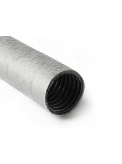 Труба дренажная 110 SN4 однослойная с геофильтром (бухта 50м) PRO AQUA