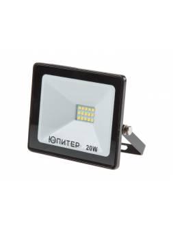 Прожектор светодиодный 20 Вт 6500K IP64 ЮПИТЕР (1600 лм, холодный белый свет)