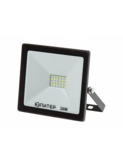 Прожектор светодиодный 30 Вт 6500K IP64 ЮПИТЕР (2400 лм, холодный белый свет)