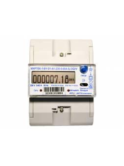 Счетчик однофазный МИРТЕК-1-BY-D5-A1-230-5-60А-S-OV3 (Электронные многотарифные предназначены для установки в общественныихи и административных здания