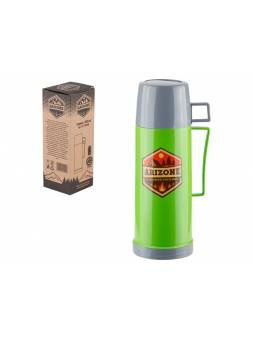 Термос, 450 мл, зеленый, ARIZONE (в индивидуальной упаковке)