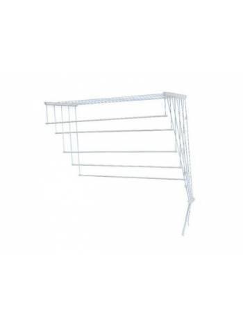 Сушилка для белья потолочная стальная 1,4 м, белая, PERFECTO LINEA
