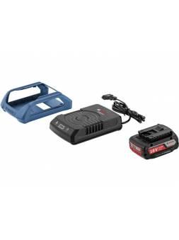 Комплект аккумулятор 18.0 В GBA18 V 1 шт. + зарядное устройство  GAL 1830  W-UNI (Набор GBA 18 V 2,0Ah + GAL 1830  W-UNI беспроводное з/у) (BOSCH)