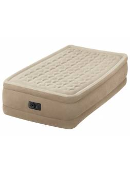 Надувная кровать Twin Ultra Plush (Твин Ультра Плаш), 99х191х46 см, встр. электрич. насос, INTEX