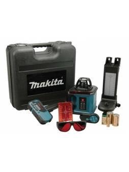 Нивелир лазерный ротационный MAKITA SKR 200 Z в кейсе (проекция: 1 плоскость 360°, точка, до 200 м, +/- 0.30 мм/м, резьба 5/8