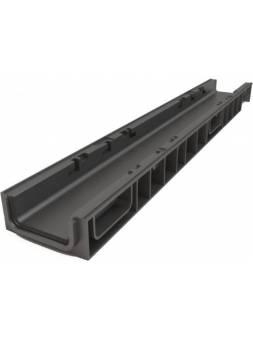 Лоток 100.65 h69 пластиковый light, РБ (Дополнительный элемент: Решетка STANDART) (ecoteck)