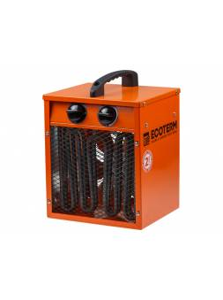 Нагреватель воздуха электр. Ecoterm EHC-02/1C (кубик, 2 кВт, 220 В, термостат, 2 года гарантии)