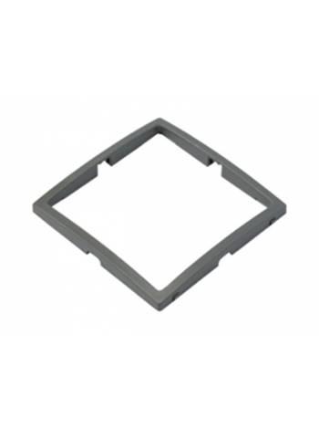 Вставка в рамку 1-местная темно-серая, Уют, упак=3 шт.,  Bylectrica (Рамка  ЮЛИГ. 735212.276(03))
