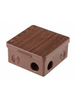 Коробка распаячная ОП 100х100х50мм, бук, 8 мембр. вх. IP54 ЮПИТЕР