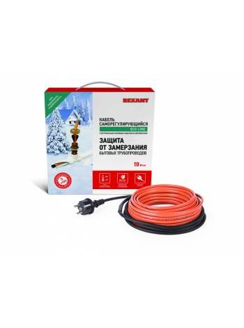 Греющий саморегулир. кабель в трубу 10HTM2-CT (2м/20Вт) (комплект) REXANT (Греющий саморегулирующийся кабель (комплект в трубу) 10HTM2-CT ( 2м/20Вт) R