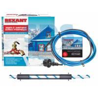 Греющий саморегулир. кабель на трубу 15MSR-PB 4M (4м/60Вт) (комплект) REXANT (Греющий саморегулирующийся кабель на трубу 15MSR-PB 4M (4м/60Вт) REXANT)