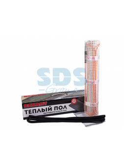 Теплый пол (нагрев. мат)  Extra (1,0м2; 0,5х2,0м; 160Вт; двужильн.) REXANT (Теплый пол (нагревательный МАТ) REXANT Extra, площадь1,0 м2 (0,5 х 2,0 мет