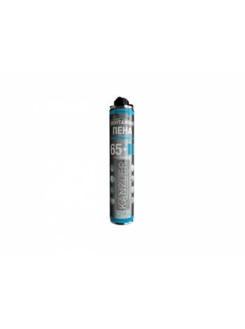 Пена монтажная професс. зимняя KANZLER RRO MAX (850мл) (Выход до 65л) (БелИНЭКО)