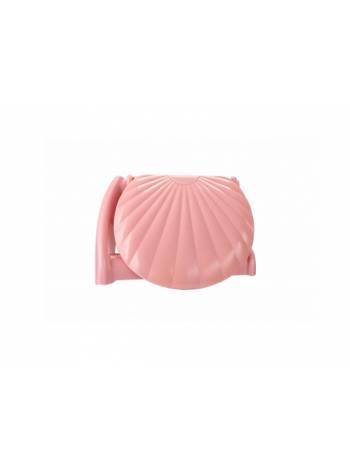 Держатель для туалетной бумаги Laguna, нежно-розовый, BEROSSI (Изделие из пластмассы)