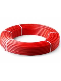 Труба PE-RT для теплого пола 16(2,0) бухта 100м красная PRO AQUA