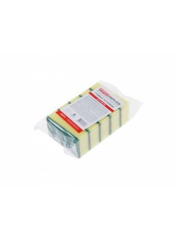 Губки кухонные Optimum, 5 шт., 90х60х30 мм, Optimum, PROservice (для проф. использования в промышл. объетах и объектах с высокими требованиями к качес