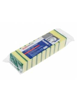 Губки кухонные Standard, 10 шт., 100х70х30 мм, PROservice (для проф. использования в промышл. объетах и объектах с высокими требованиями к качеству ма