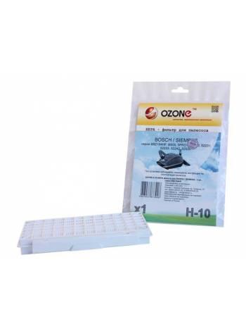 HEPA-фильтр для пылесоса одноразовый OZONE H-10 (1 шт.) (BOSCH / SIEMENS BSG5:/ VS05G:)